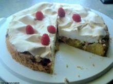 Himmlischer Baiser-Kuchen - Rezept