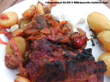 "Grillen: BBQ Spareribs  mit ""Southern Style"" Marinade - Rezept"
