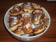 süße Mini-Krapfen - Rezept
