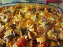 Nudeln in Käsesauce - überbacken - Rezept