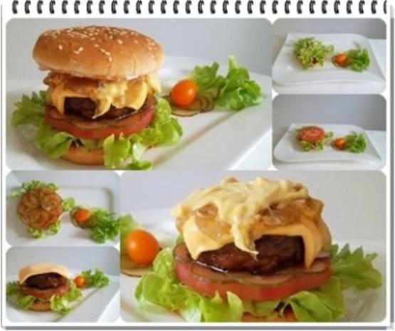 Hamburger mit Kraussalat und selbst hergestellter Mayonnaise. - Rezept - Bild Nr. 12