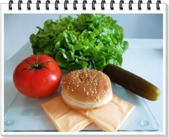 Hamburger mit Kraussalat und selbst hergestellter Mayonnaise. - Rezept - Bild Nr. 5