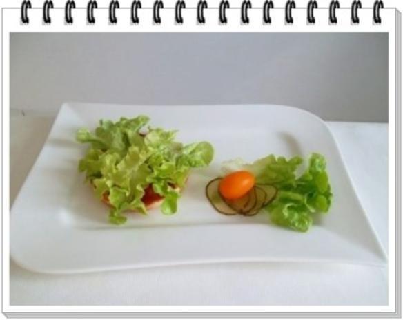 Hamburger mit Kraussalat und selbst hergestellter Mayonnaise. - Rezept - Bild Nr. 14