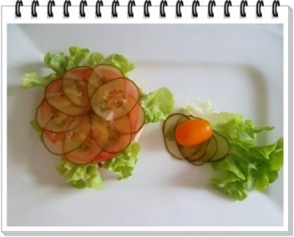 Hamburger mit Kraussalat und selbst hergestellter Mayonnaise. - Rezept - Bild Nr. 16