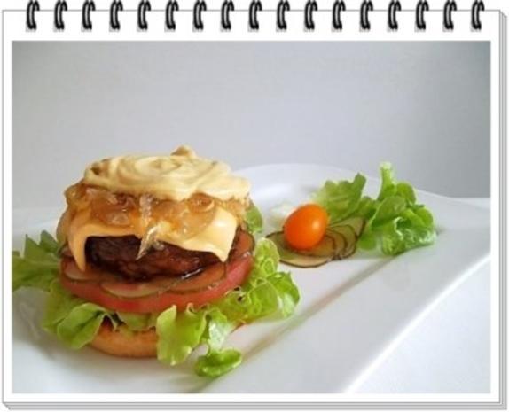 Hamburger mit Kraussalat und selbst hergestellter Mayonnaise. - Rezept - Bild Nr. 18