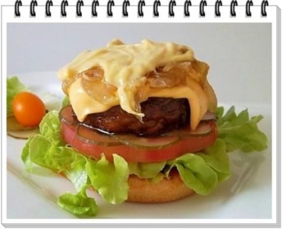 Hamburger mit Kraussalat und selbst hergestellter Mayonnaise. - Rezept - Bild Nr. 19
