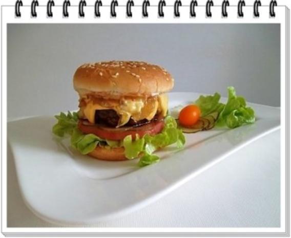 Hamburger mit Kraussalat und selbst hergestellter Mayonnaise. - Rezept - Bild Nr. 20