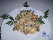 Kartoffel-Gemüse-Pfanne - Rezept