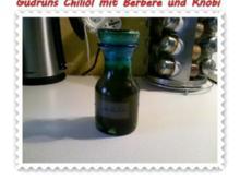 Öl: Chiliöl mit Berbere und Knobi - Rezept