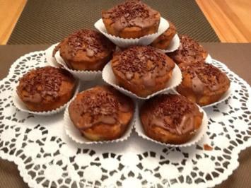 Schoko - Birnen Muffins - Rezept