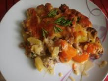 Karotten  - und - Kartoffel - Gratin - Rezept