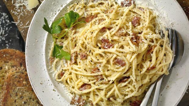 Spaghetti Carbonara - der italienische Klassiker - Rezept - Bild Nr. 2