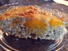 Gestürzter Aprikosen-Mohn-Kuchen - Rezept
