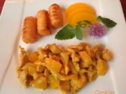Fruchtiges Hähnchen - Geschnetzeltes - Rezept