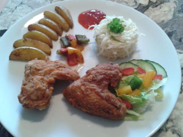 Southern Fried Chicken - Rezept