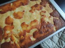 Holunder Apfelkuchen - Rezept