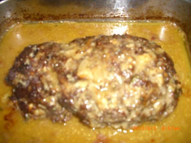 Faschierter Braten mit Kartoffelpürre - Rezept
