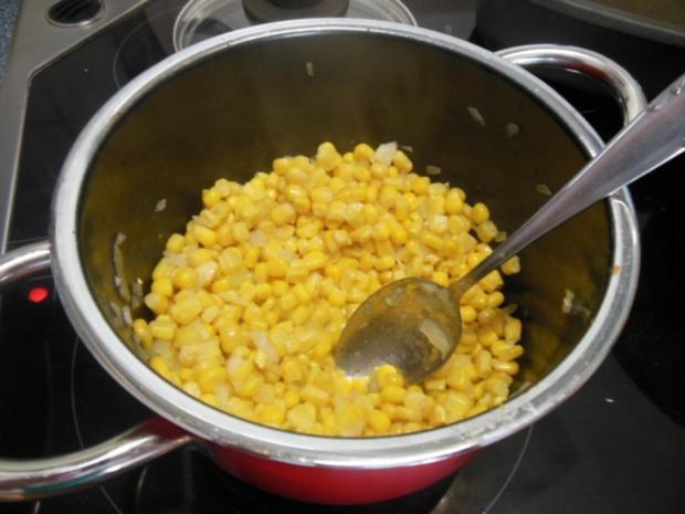 Suppe: Maissuppe mit Maisblinis - Rezept - Bild Nr. 3