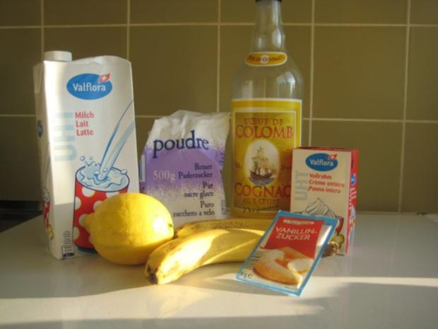 Bananeneis mit Eiercognac - Rezept - Bild Nr. 3