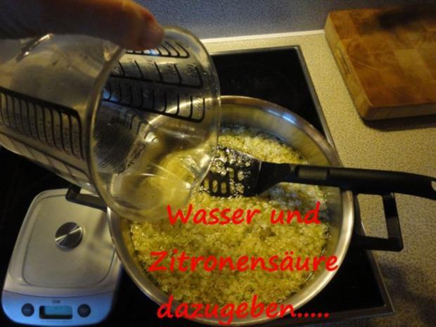 Holunderblüten Sirup - heiß eingekocht - Rezept - Bild Nr. 4