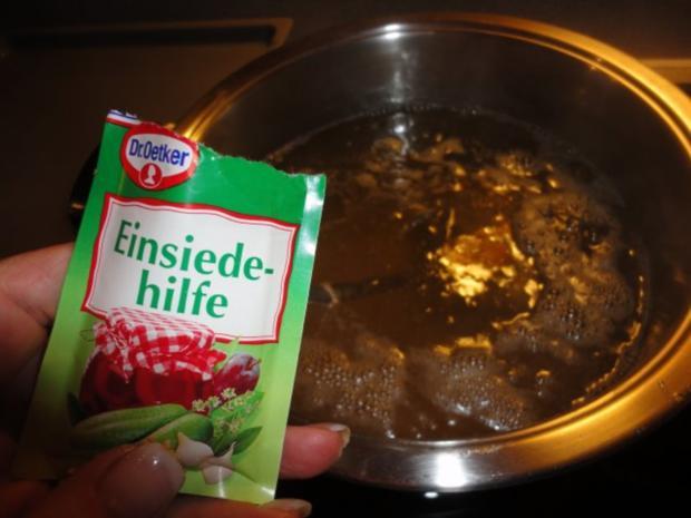 Holunderblüten Sirup - heiß eingekocht - Rezept - Bild Nr. 11