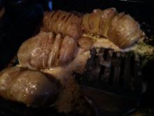 Hasselback-Potatoes - Backofenkartoffeln deluxe - Rezept