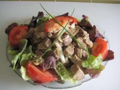 Tafelspitzsalat (Siedfleisch-Salat) - Rezept