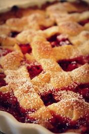 Rezept: Erdbeer-Rhabarber-Tarte