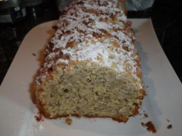 Mohn-Marzipan-Streuselkuchen - Rezept