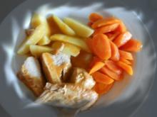 Putenbraten mit glasierten Karotten - Rezept