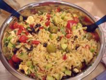 Kritharaki-Antipasti-Salat - Rezept