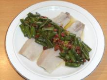 Fisch: Matjes mit Speckbohnen - Rezept