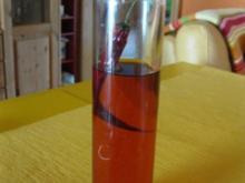 feuriges Chili-Öl - Rezept