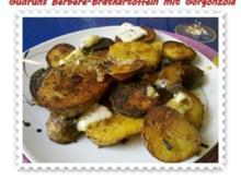 Kartoffeln: Berbere-Bratkartoffeln mit Gorgonzola - Rezept