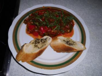 Paprika-Gemüse-Pfanne - Rezept