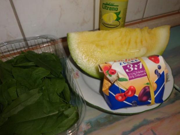 Basic: Gelber Wassermelone-Sirup mit Sauerampfer und Ingwer - Rezept - Bild Nr. 3