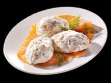 Frischkäse/ Aufstrich mit Forelle und Lachs - Rezept