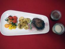 Rinderfilet an Ofengemüse - Rezept