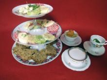 Dreierlei Suppen von Brunnenkresse, Meerrettich und Rote Bete - Rezept