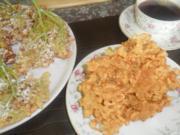 frittierte hollerblüten zum kaffee-wieder ne schöne kindheitserinnerung - Rezept