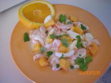 Salat: Garnelensalat - Rezept