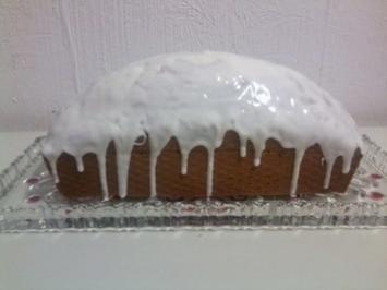 Zimt -Sahne-Kuchen - Rezept