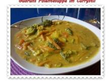 Suppe: Polentasuppe im Currystil - Rezept