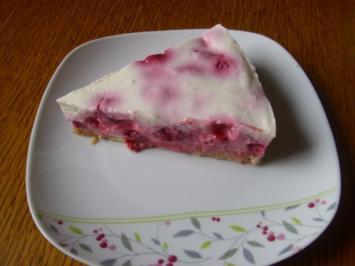 Frischkäse-Torte Prosecco-Himbeer - Rezept