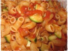 Pasta Verdure - Rezept