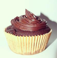 Schokoladen Cupcakes mit Schoko-Sahne-Frosting - Rezept