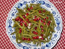 Salat von grünen Bohnen - Rezept