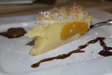 Yum! Pfirsich Puddingkuchen - Rezept