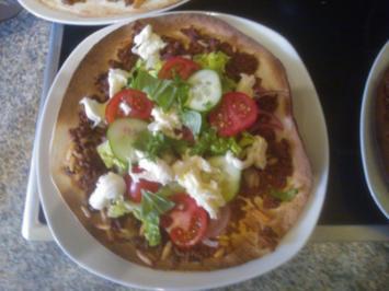 schnelle türkische Pizza - Rezept