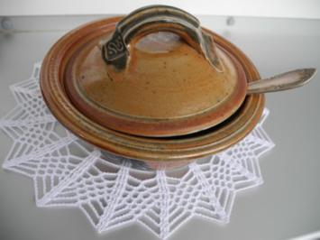 Marmelade : Erdbeer - Rhabarber - Gsälz - Rezept